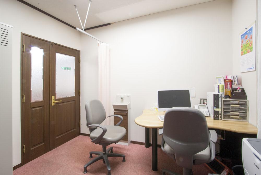 高根台プラザの高根台メンタルクリニック診察室