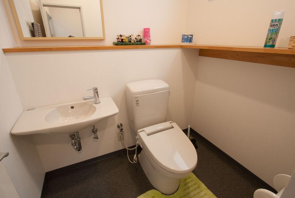 高根台プラザのたかね台北口整骨院トイレ